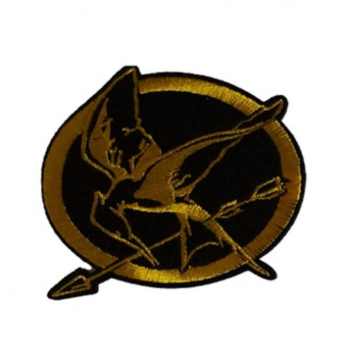 Hunger Games Iron / Sew On Embroidered Patch